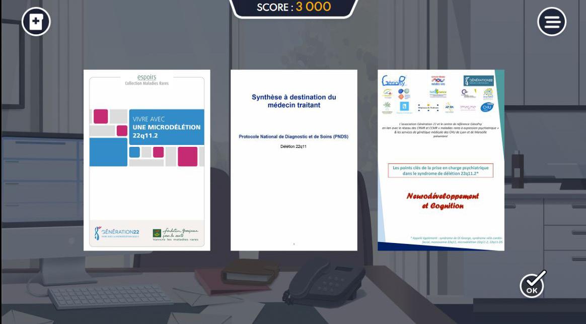 Exemple de documentation pédagogique dans DéfiGame